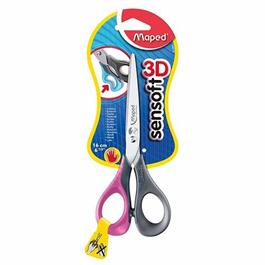 Maped Sensoft 16cm Scissors Left Handed Thumbnail Image 0