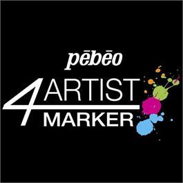 Pebeo 4ARTIST MARKER 15mm Flat Nib Thumbnail Image 3
