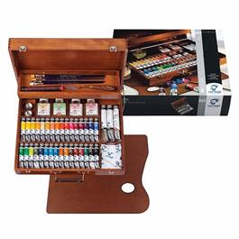 Van Gogh Oil Colour Superior Wooden Box thumbnail