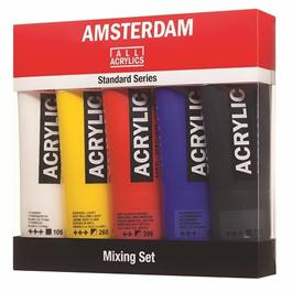 Amsterdam All Acrylics Standard Mixing Set 5 x 120ml thumbnail