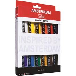 Amsterdam All Acrylic Standard Set 12x20ml thumbnail