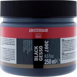 Amsterdam Gesso Black 250ml thumbnail