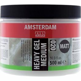 Amsterdam Heavy Gel Medium Matt 500ml thumbnail