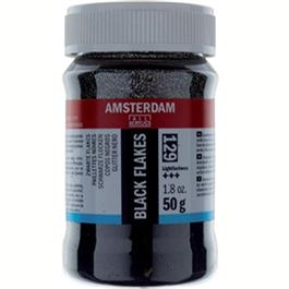 Amsterdam Black Flakes 50Gr thumbnail
