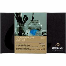 Rembrandt Luxury Water Colour Brushes Travel Set Thumbnail Image 2