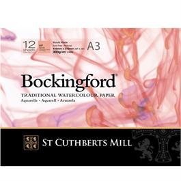Bockingford Glued Pad A3 140lbs / 300gsm HP thumbnail