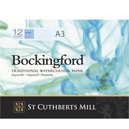Bockingford Glued Pad A3 140lbs / 300gsm NOT thumbnail