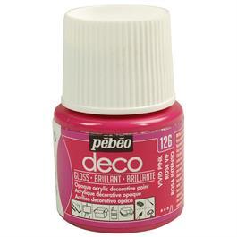 Pebeo Deco Acrylic Paints 45ml - Gloss Colours Thumbnail Image 0