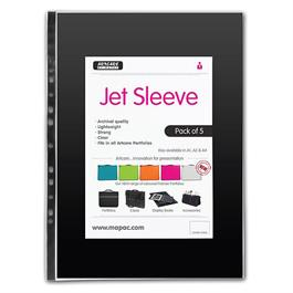 A4 Jet Sleeves Pack of 5 thumbnail