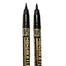 Zig Cartoonist Mangaka Flexible Fineliners Single Pens Thumbnail Image 2