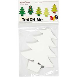 Teach Me Create Your Own Xmas Trees (25 Pieces) thumbnail