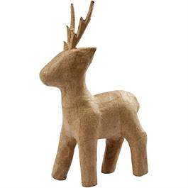 Papier Mache Standing Roe Deer thumbnail