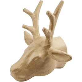 Papier-Mache Trophy Deer Head thumbnail