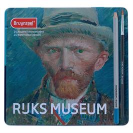 Bruynzeel Dutch Masters 24 Watercolour Pencils Set  thumbnail