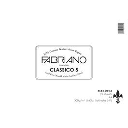 Fabriano Classico 5 Fat Pad A4 140lbs 'HP' thumbnail