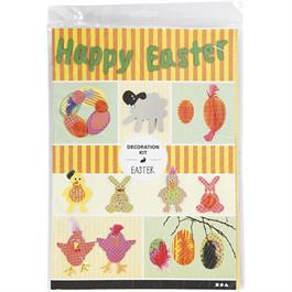 Easter Decoration Kit - Bright Shades