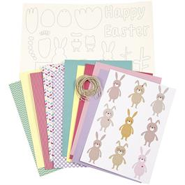 Easter Decoration Kit - Pastel Shades