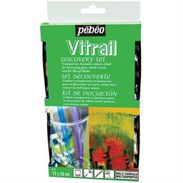 Pebeo Vitrail Discovery Set 12 x 20ml thumbnail