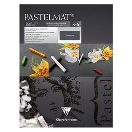 Clairefontaine Pastelmat Pad No.6 Anthracite 30cm x 40cm thumbnail