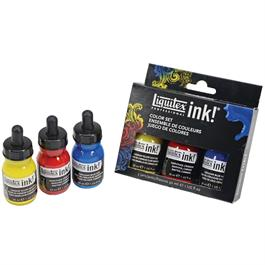 Liquitex Acrylic Ink Colour Set 3 x 30ml thumbnail