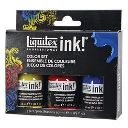 Liquitex Acrylic Ink Colour Set 3 x 30ml Thumbnail Image 2
