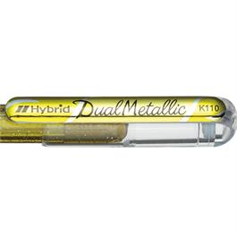 Pentel Dual Metallic Gel Roller 1.0mm Gold thumbnail