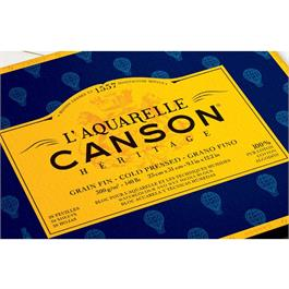 Canson Heritage Watercolour Block Cold Pressed (NOT) 140lbs Thumbnail Image 1