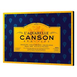 "Canson Heritage Block NOT 9x12"" (23x31cm) 140lbs thumbnail"