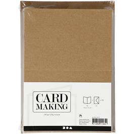 The Creativ Co. A6 Card & Envelope Pack x 50 Kraft