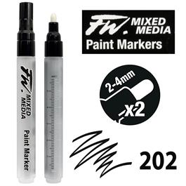 FW Mixed Media Paint Marker Set 2-4mm Round 202 Thumbnail Image 0