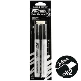 FW Mixed Media Paint Marker Set 2-6mm Chisel 203 Thumbnail Image 1