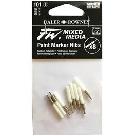 FW Mixed Media Paint Marker Nibs 0.8mm Technical x 8 thumbnail