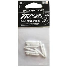 FW Mixed Media Paint Marker Nibs 1mm Hard x 10 thumbnail