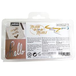 Pebeo Mirror Effect Kit - Gilding Pen And Foils Thumbnail Image 1