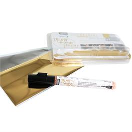 Pebeo Mirror Effect Kit - Gilding Pen And Foils Thumbnail Image 2