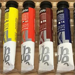 Pebeo Studio XL Oil Paint Starter Kit Wooden Box Thumbnail Image 2