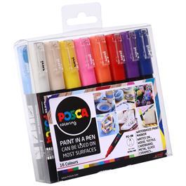 POSCA PC-1M Set Of 16 Pens Thumbnail Image 1