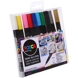 POSCA PCF-350 Set Of 10 Pens Thumbnail Image 1