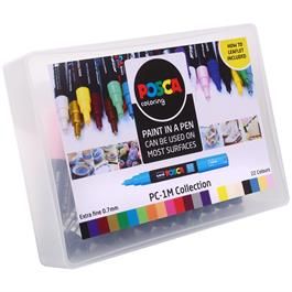POSCA PC-1M Collection Pack Of 22 Pens Thumbnail Image 1