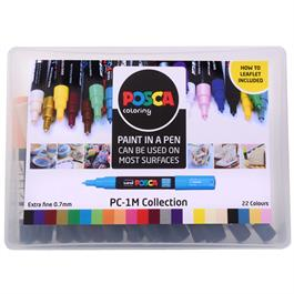 POSCA PC-1M Collection Pack Of 22 Pens Thumbnail Image 2