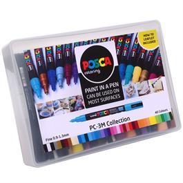 POSCA PC-3M Collection Pack Of 40 Pens Thumbnail Image 2