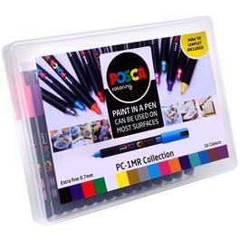POSCA PC-1MR Collection Pack Of 16 Pens Thumbnail Image 1