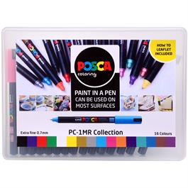 POSCA PC-1MR Collection Pack Of 16 Pens Thumbnail Image 2