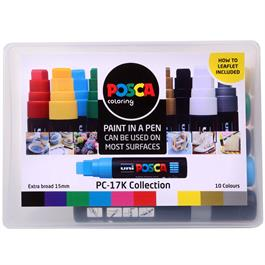 POSCA PC-17K Collection Pack Of 10 Pens thumbnail