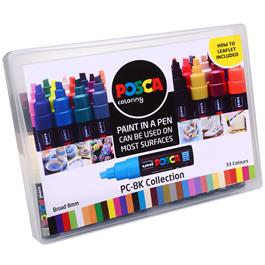 POSCA PC-8K Collection Pack Of 33 Pens Thumbnail Image 2