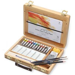 Winsor & Newton Artists' Watercolour Tube Bamboo Box thumbnail