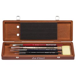 Da Vinci Water Colour Brush Set in Wooden Box thumbnail