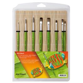 Da Vinci Hobby Painting Brush Assortment in Bamboo Mat thumbnail