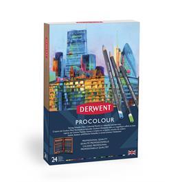 Derwent Procolour 24 Wooden Box Thumbnail Image 2