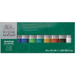 Winton Oil Paint Starter Set 10x37ml thumbnail